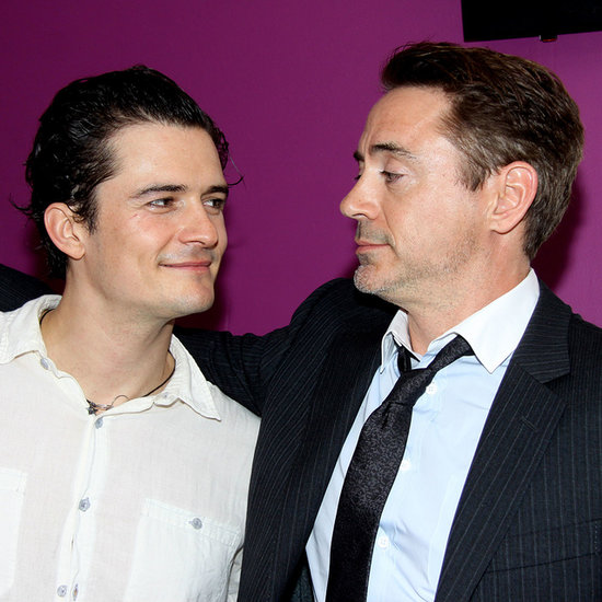 Orlando Bloom With Robert Downey Jr. | Pictures