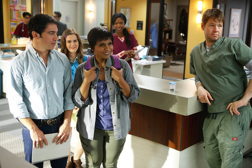 The Mindy Project Chris Messina returns to the office on the season premiere of The Mindy Project.