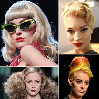 Retro Vintage Hair and Makeup | Runway Beauty Pictures