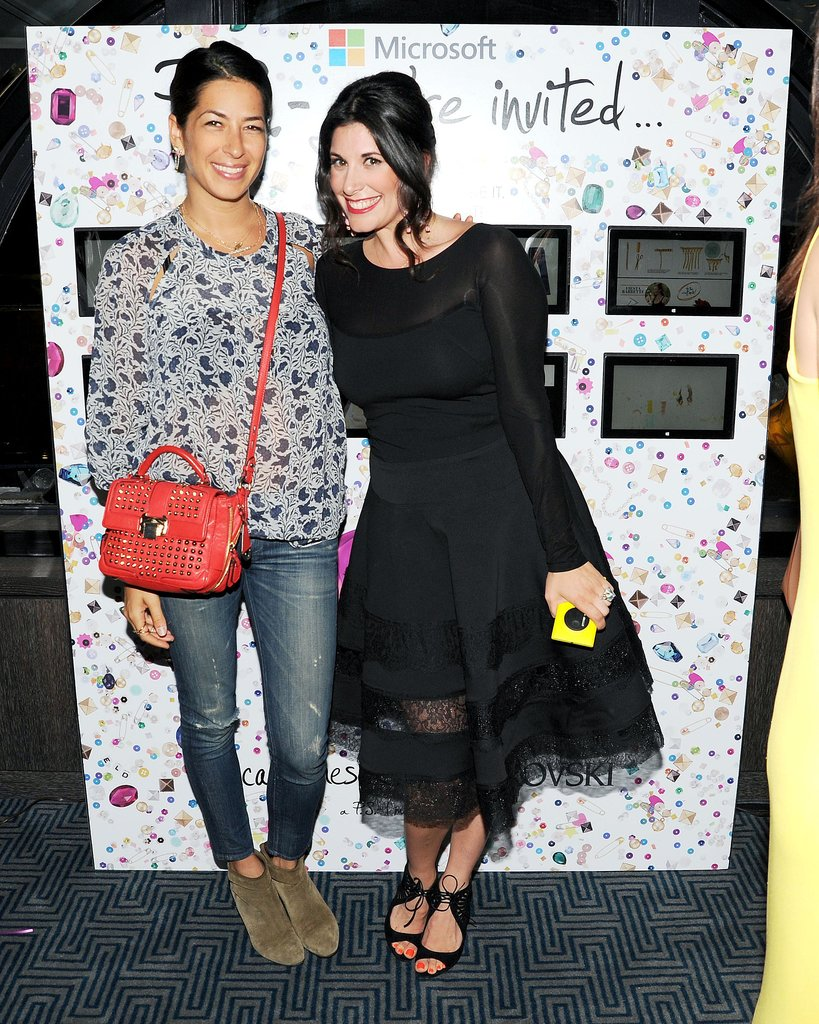 P.S. we adored Rebecca Minkoff and Erica Domesek's ensembles at Domesek's New York book launch.