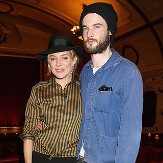 Sienna Miller and Tom Sturridge at the About Time Screening