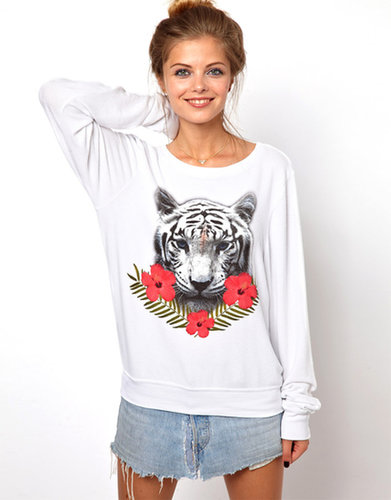 Wildfox Tropical Tiger Sweater