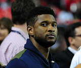 Usher took in a Philadelphia Eagles vs. Atlanta Falcons game in September 2011.