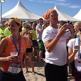 Christy Turlington was all smiles after finishing the Hood to Coast run — a 198-mile relay race! Christy took part in the race to help raise awareness for her organization, Every Mother Counts, which aims to end preventable deaths caused by pregnancy and childbirth. Source: Instagram user cturlington