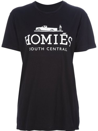 Brian Lichtenberg slogan print t-shirt