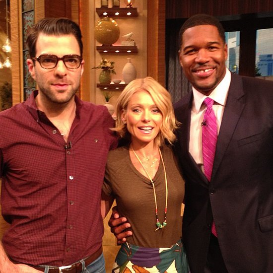 Kelly Ripa recently took her lob up to a bob that's just slightly shorter in the back than it is in the front.  Source: Instagram user kellyandmichael