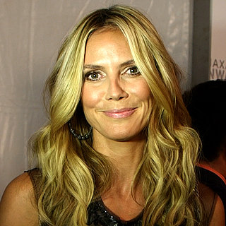 Heidi Klum Backstage at New York Fashion Week | Video