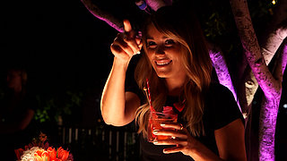 Lauren Conrad Parties With POPSUGAR and Malibu Spiced Rum!