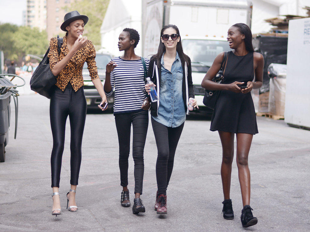 The model pack on the move with legs for days and style to steal.