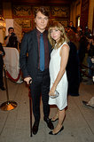 Paul Dano had his girlfriend, Zoe Kazan, by his side.