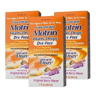 Infant Motrin Recall September 2013