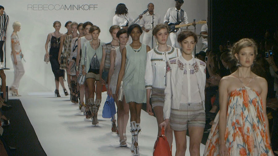 What Happens When Sporty Meets Tribal? Rebecca Minkoff's Spring Collection