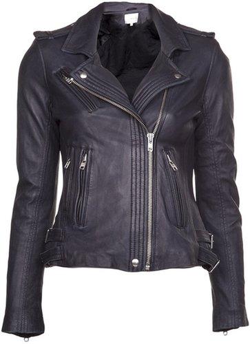 Iro asymmetrical moto jacket