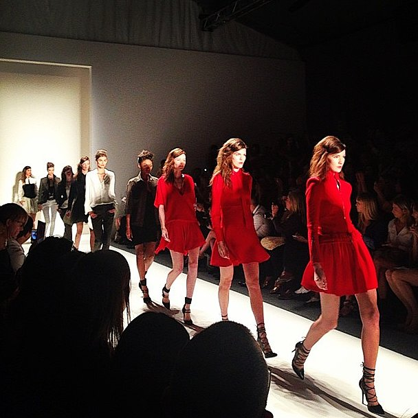 Barneys was seeing red, in a good way, at Marissa Webb. Source: Instagram user barneysnyofficial