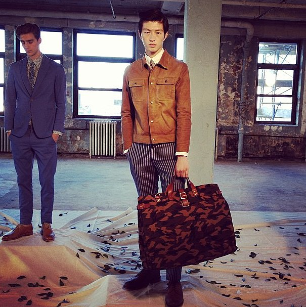 Ernest Alexander, we want your bags, right now.