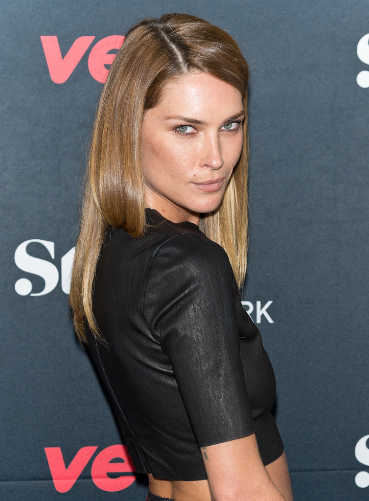 Erin Wasson at Style Network's Style to Rock Event.