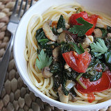 Low-Calorie White Wine Spaghetti Recipe