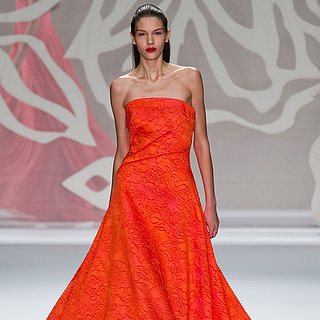 Monique Lhuillier Spring 2014 Runway Show | NY Fashion Week