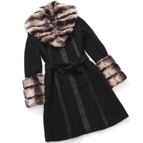 Button Up Fur Coat