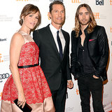 Matthew McConaughey at the Dallas Buyers Club TIFF Premiere