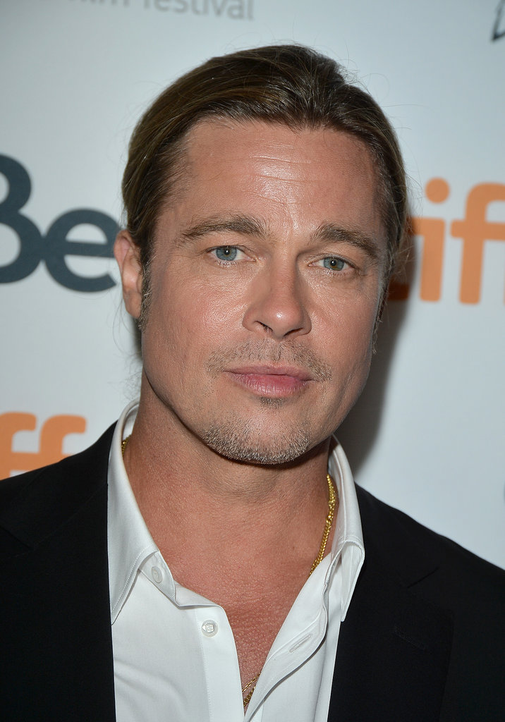 Brad Pitt Cleans Up Nicely For the Toronto International Film Festival