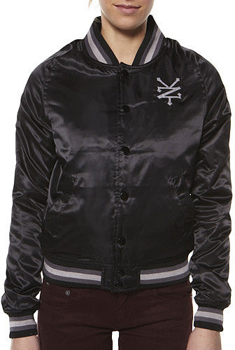 Zoo York Girlz Satin Bomber