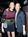 Liu Wen helped Jason Wu celebrate his Spring collection at The Electric Room.