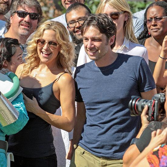 Zach Braff and Kate Hudson Celebrate Rosh Hashanah