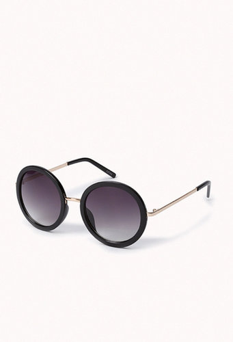 FOREVER 21 F1795 Oversized Round Sunglasses
