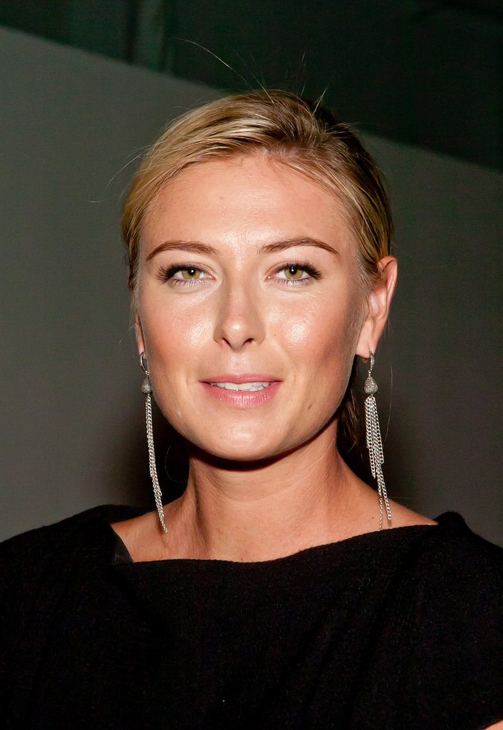 Maria Sharapova at the Porsche Design Show.