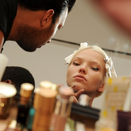 Derek Lam Beauty Looks at 2014 Spring New York Fashion Week