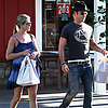 Jennifer Aniston and Justin Theroux Grocery Shopping in LA