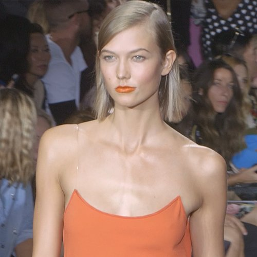 Karlie Kloss Interview at New York Fashion Week Spring 2014