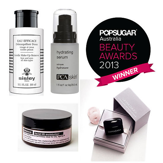 POPSUGAR Australia Beauty Awards 2013: The Winning Skincare Products