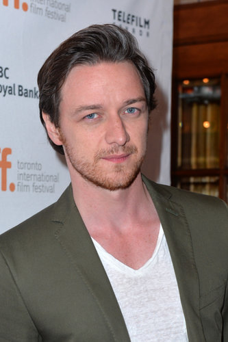 James McAvoy suited up for the premiere of The Disappearance of Eleanor Rigby: Him and Her.