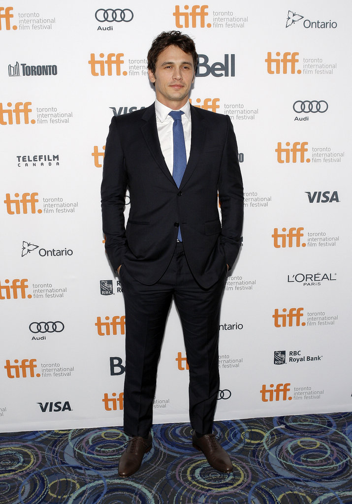 James Franco looked dapper in a suit for the Child of God premiere.