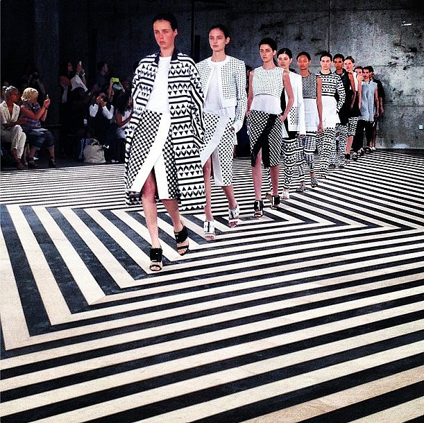 What's black and white? Edun. Source: Instagram user joannpailey