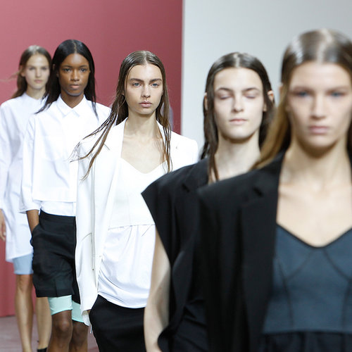 Theyskens' Theory Spring 2014 Hair and Makeup | Runway