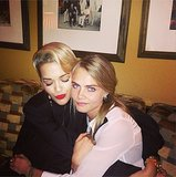 Old friends Rita Ora and Cara Delevingne reunited — and it felt so good! Source: Instagram user ritaora