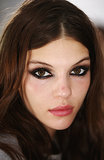 Smoky fashion week eyes at Jill Stuart.