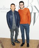 Richard Chai joined Zachary Quinto for cocktails at the W celebration event.