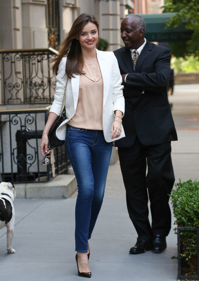 Miranda Kerr headed to the US Open.