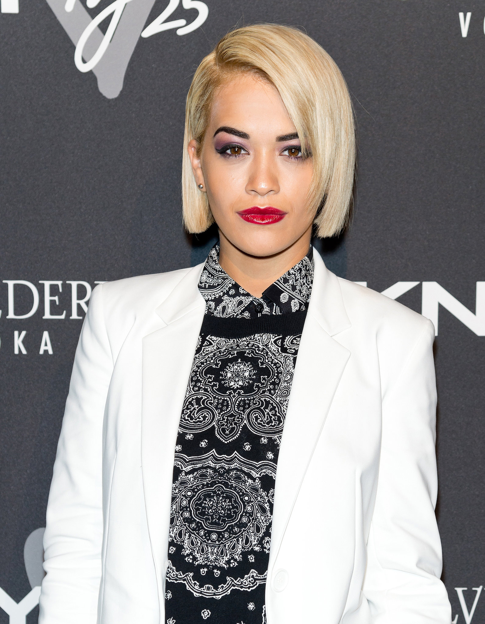 Rita Ora at the #DKNY25 Birthday Bash.