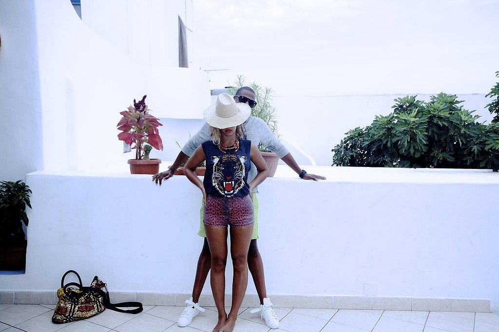 Beyoncé Knowles and Jay Z got close during their recent overseas trip. Source: Tumblr user Beyoncé Knowles