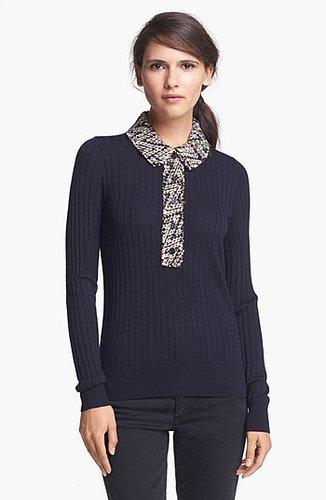 Tory Burch 'Zelda' Merino Wool Sweater