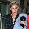 Miley Cyrus Wears Thigh-High Boots in London Pictures