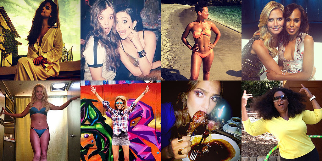 Bikini Babes, NYFW Fun, and More of the Week's Cute Celebrity Candids