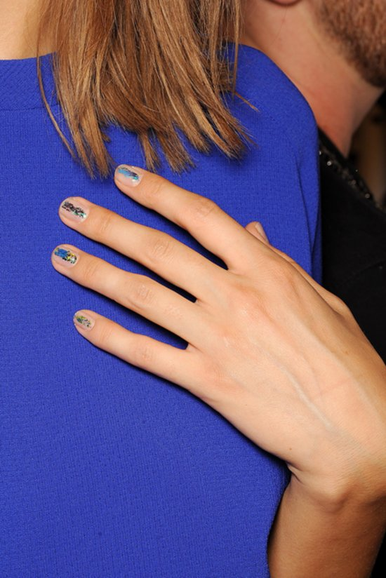 ICB by Prabal Gurung Spring 2014 nails