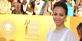 105 Reasons We Know Zoe Saldana Was a Beautiful Bride