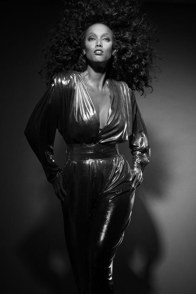 Tyra Banks photographed by Udo Spreitzenbarth as Iman. Photo courtesy of Tyra Banks